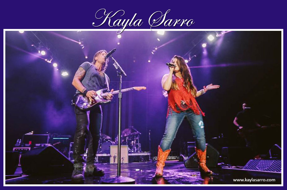 Kayla Sarro Country Singer with Keith Urban
